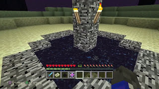 Minecraft PS4 Edition - How To Respawn The Ender Dragon After You've Killed It