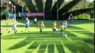 Zacharias första fotbollsträning med Tvings GOIF 28 Maj 2008