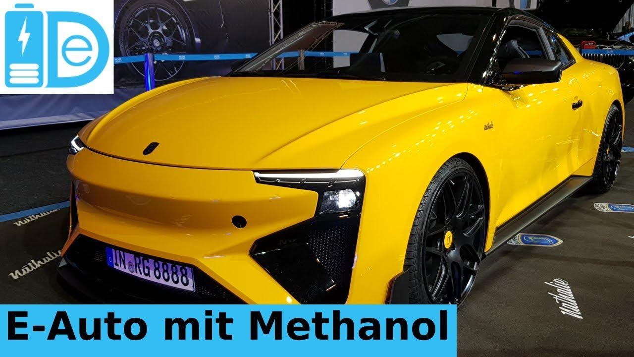 erfurter automobilmesse deutsches e auto mit methanol brennstoffzelle von gumpert. Black Bedroom Furniture Sets. Home Design Ideas