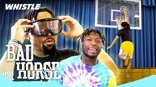 Trick Shot Horse With CONSEQUENCES! | Nate Robinson vs. Marcelas Howard 1v1