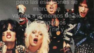 Motley Crue - Shout at the devil subitulada en español