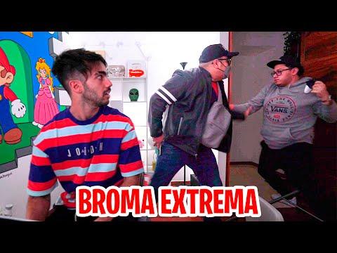 ENTRARON A ROBAR A MI CASA! (broma pesada a mi amigo)