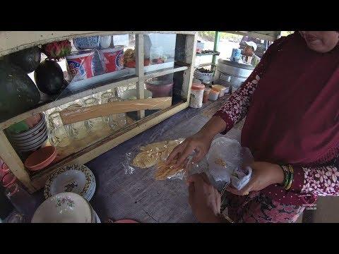 Indonesia Bali Street Food 2215 Part.1 Peanut Cracker Pulaki  Kacang Kerupuk YN020181