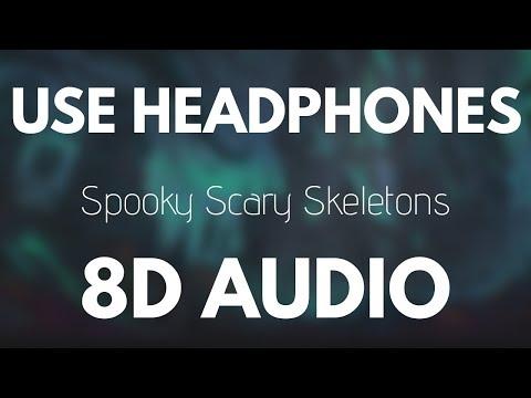 Spooky Scary Skeletons 💀 8D