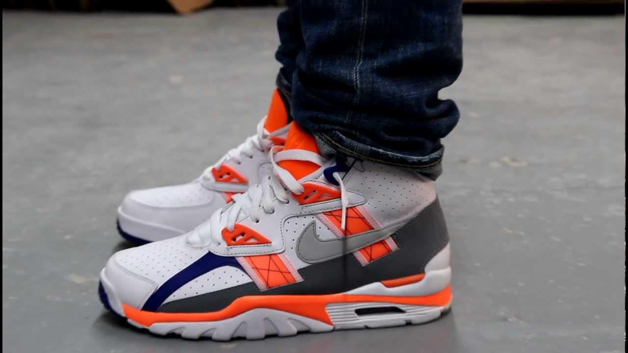 nike air trainer sc high quotauburnquot onfeet at exclucity