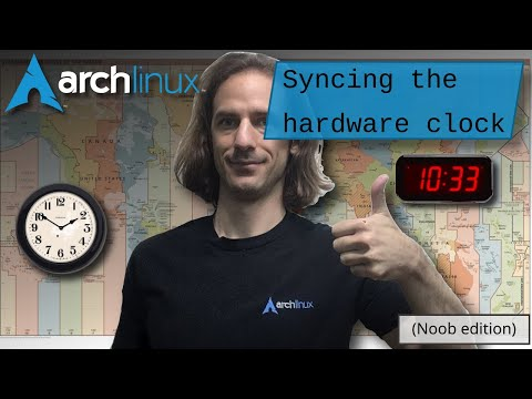 Arch Linux Installation: Deep dive into updating the system clock