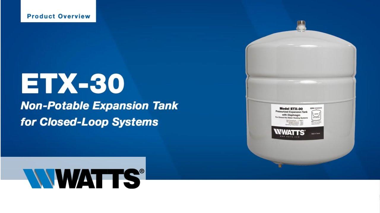 Watts ETX-30 Expansion Tank