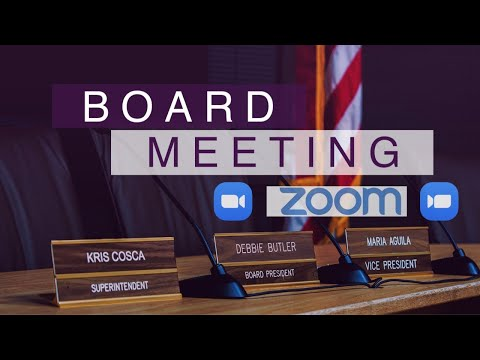 NUSD Zoom Board Meeting 7-14-2020