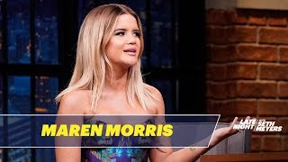Maren morris talks about the early days of her music career and shares story audition for american idol.» subscribe to late night: http://bit.ly/l...