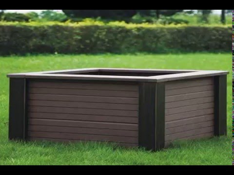 Build Garden Box Wood Plastic Composite