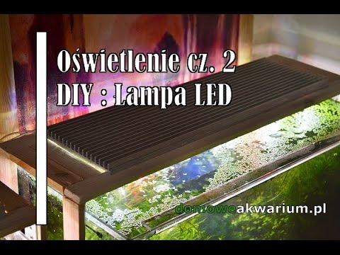 Oświetlenie Cz 2 Diy Lampa Led Youtube