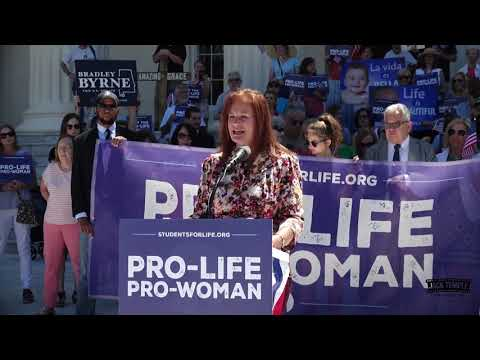Rep  Terri Collins Celebrates the AL Human Life Protection Act