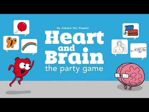"""Heart and Brain """"the ultimate social game of wits"""" on Kickstarter"""
