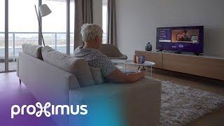 Smart Cities: Proximus ontwikkelde een speciaal TV-platform voor senioren
