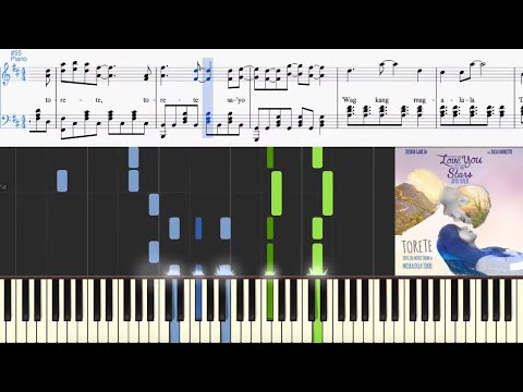 Moira Dela Torre - Torete (from Love You To The Stars And Back) (Synthesia Piano Tutorial)