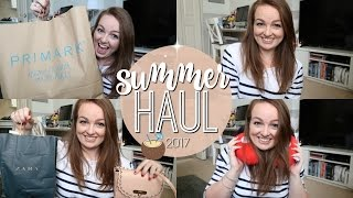 BIG SPRING/SUMMER HAUL | PRIMARK, ASOS & ZARA ♡ | Brogan Tate