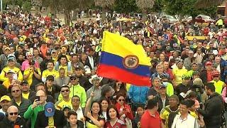 Emoción en Zipaquirá, el pueblo colombiano de Egan Bernal