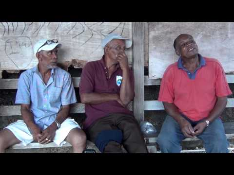 Trinidad Patois Speakers Converse with a Frenchman