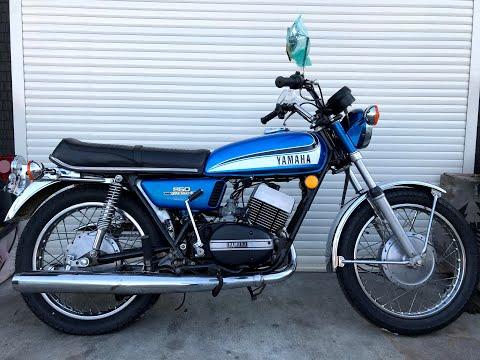 YAMAHA RD250 最初期モデルヤマハRD250旧車バイクレストアカスタム2スト