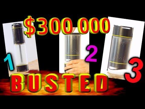 $300 000 Self-Filling water bottle, SUPERFAIL!