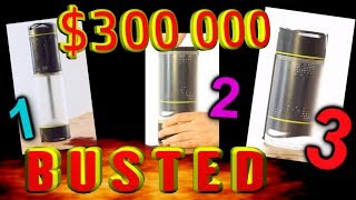 $300 000 Self-Filling water bottle, SUPERFAIL!