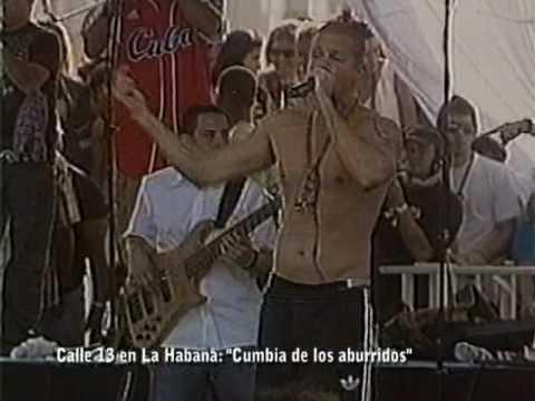 LETRA CUMBIA DE LOS ABURRIDOS - Calle 13 | Musica.com