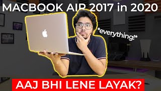 MacBook Air 2017 Review in 2020 | STILL THE BEST LAPTOP @ 60K? Full Review After 2 Year Use in Hindi
