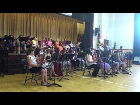 cresaptown elementary school orchestra 2013