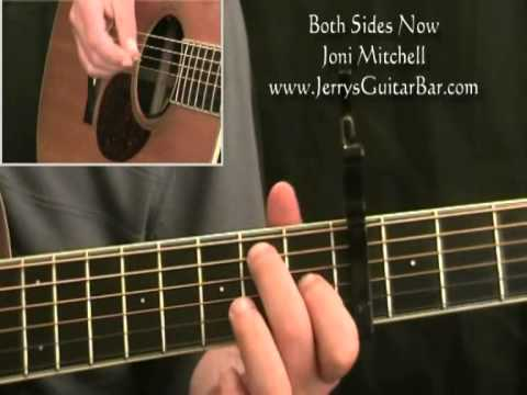 How To Play Joni Mitchell Both Sides Now (full lesson ...