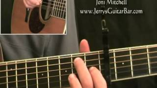 How To Play Joni Mitchell Both Sides Now (full lesson)