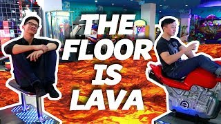 THE FLOOR IS LAVA CHALLENGE Ft Brandon Kent!