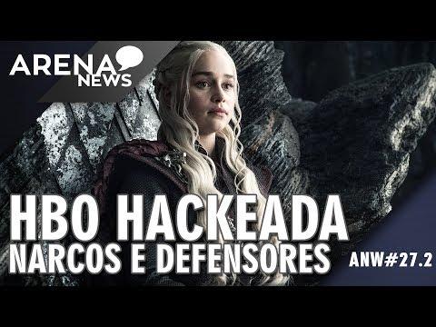 Roteiros e Episódios Vazados no Ataque Hacker na HBO   Arena News #27.2