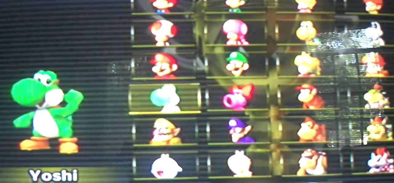 Mario Kart Wii Every Character Unlocked Cheat In Description