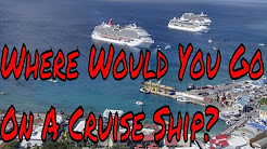 Where in the World Would You Like To Go On a Cruise Ship? Plus Las Vegas Confessions