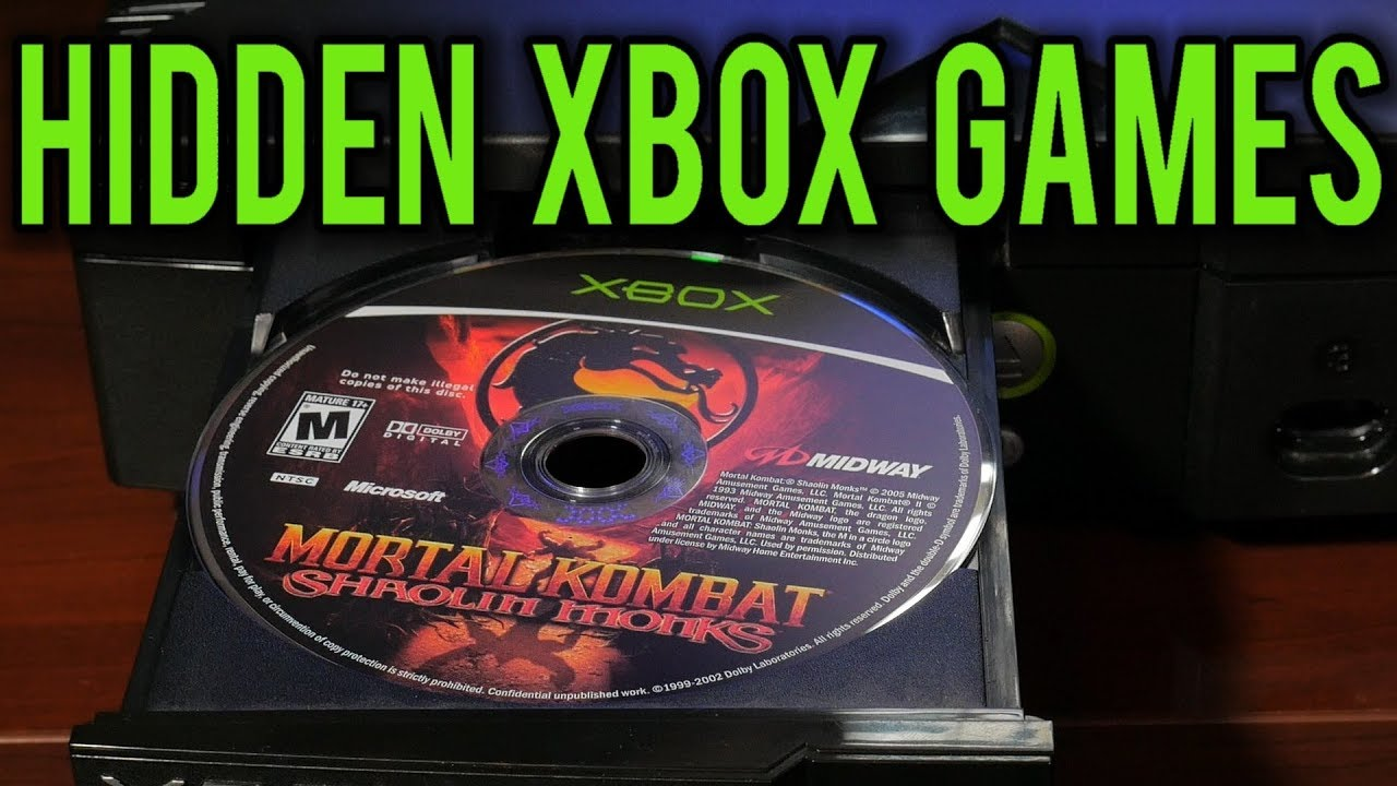Hidden and Unlockable Games for The Original Xbox   Easily play with     Hidden and Unlockable Games for The Original Xbox   Easily play with a  modded Xbox   MVG