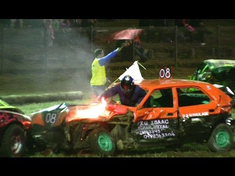 Demolition Derby - Dungog 2012 (6 Cylinder)