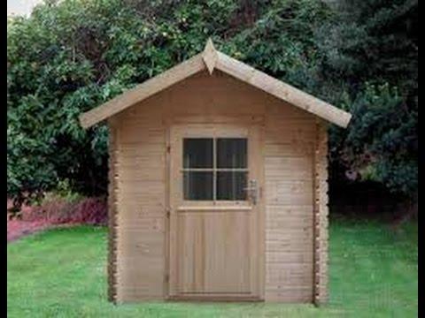 Como hacer una casa de madera chiquita youtube - Como fabricar una casa de madera ...