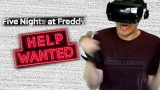 FNAF VR: If I Get Scared The Video Ends