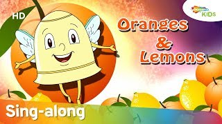 Oranges And Lemons (HD) Rhyme With Lyrics | Popular Nursery Rhymes | Shemaroo Kids Junior