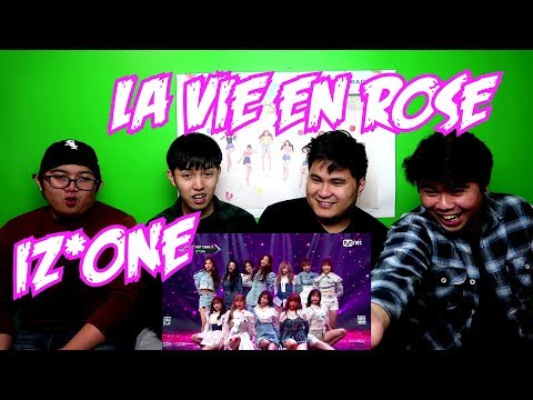 IZ*ONE - LA VIE EN ROSE LIVE REACTION (FUNNY FANBOYS)