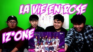 IZ*ONE - LA VIE EN ROSE LIVE REACTION (FUNNY FANBOYS) mp3