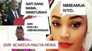 KUMECHAFUKA HATARI! Kitendo Alichokifanya Zari Wa Diamond Kimeongelewa Dunia Nzima