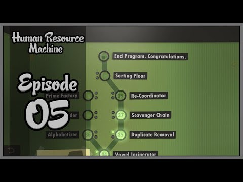 McNoob Plays LIVE: Human Resource Machine - Επεισόδιο 05 - Extras
