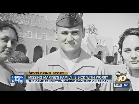 Search on for Camp Pendleton Marine last seen in Oceanside