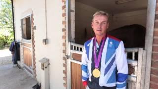 Carl Hester Ambassador for Midlands Air Ambulance Charity
