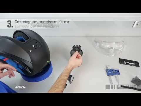 SAV-After Sales- SKWAL/ Remplacement Sous-plaques Ecran-replacement Visor Plates