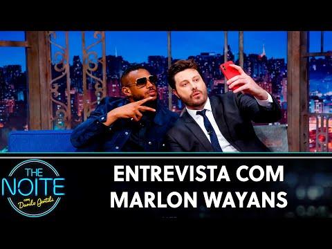 Entrevista com Marlon Wayans  The Noite 140819