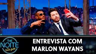 Entrevista com Marlon Wayans | The Noite (14/08/19)