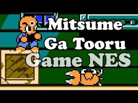 Mitsume Ga Tooru (cậu bé 3 mắt) - Nes Games - Điện tử 4 nút