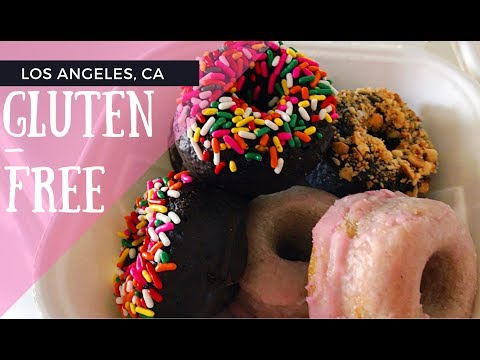 VLOG: Best Los Angeles, California Meal for a Gluten-Free Diet// Foñuts & Andre's Italian Restaurant